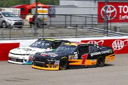 Elliott Sadler, JR Motorsports, Chevrolet; Blake Koch, Kaulig Racing, Chevrolet