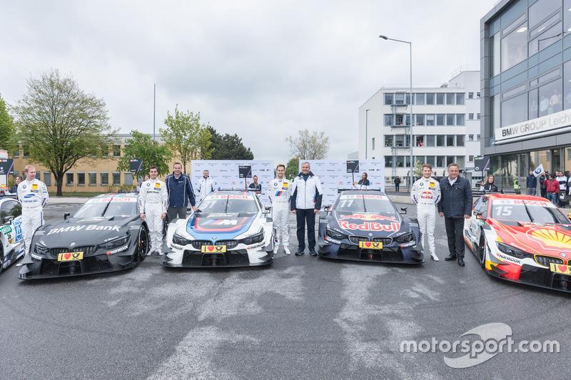 Bruno Spengler, BMW Team RBM, BMW M4 DTM, Tom Blomqvist, BMW Team RBM, BMW M4 DTM, Marco Wittmann, B