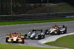 Ryan Hunter-Reay, Andretti Autosport Honda, Josef Newgarden, Team Penske Chevrolet