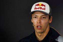 Daniil Kvyat, Scuderia Toro Rosso, in the Thursday press conference
