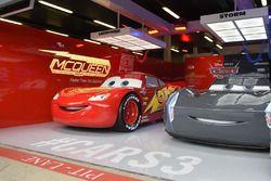 Cars 3, garage