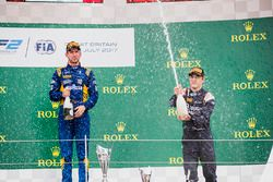 Podium: race winner Nicholas Latifi, DAMS, third place Artem Markelov, RUSSIAN TIME