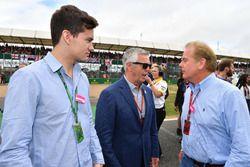 Derek Warwick, BRDC President and Jonathan Palmer