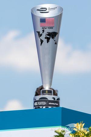 New York ePrix trophy