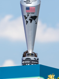 New York ePrix trophy