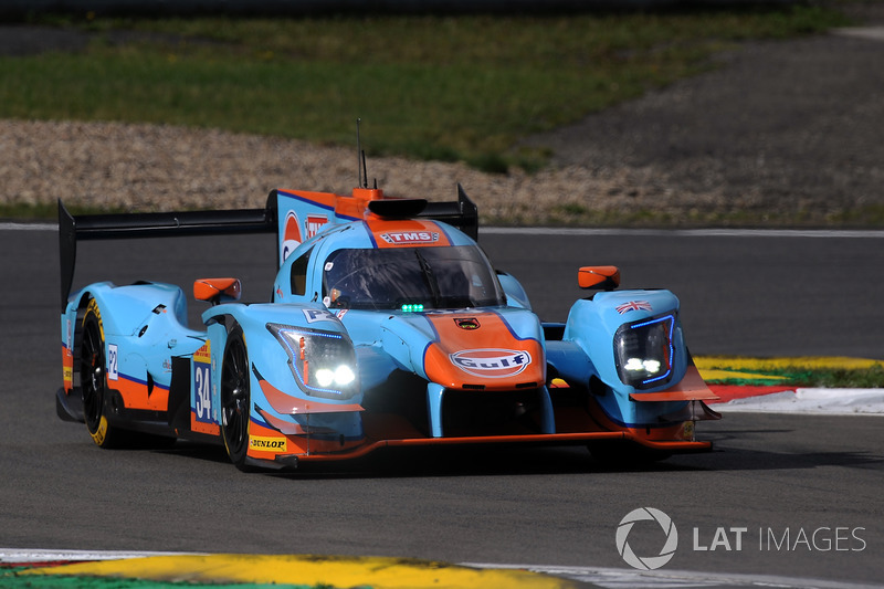 Ausfall LMP2: #34 Tockwith Motorsports, Ligier JS P217 Gibson