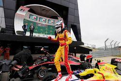 Race winner Giuliano Alesi, Trident