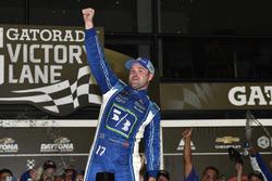 Race winner Ricky Stenhouse Jr., Roush Fenway Racing Ford