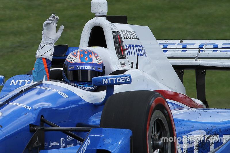 Ganador, Scott Dixon, Chip Ganassi Racing Honda