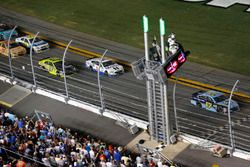 Ricky Stenhouse Jr., Roush Fenway Racing Ford takes the checkered flag