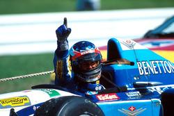 Racewinnaar Michael Schumacher, Benetton