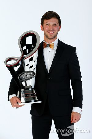 2016 Xfinity Series champion Daniel Suarez, Joe Gibbs Racing Toyota