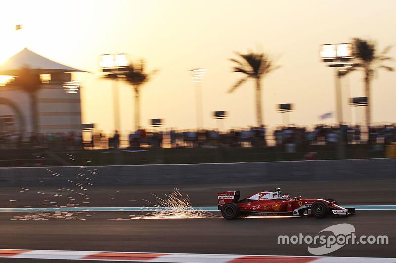 Ф1, Абу-Дабі 2016: Кімі Райкконен, Ferrari SF16-H