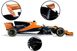 Détails de la McLaren MCL32