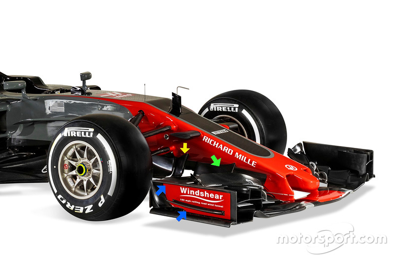 La Haas F1 Team VF-17