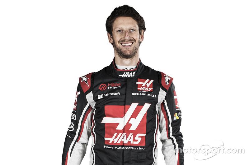 #8 Romain Grosjean, Haas F1 Team (Contrato hasta final de 2018)