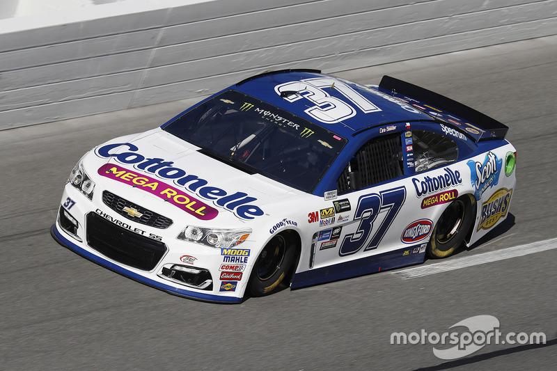 Unfall: Chris Buescher, JTG Daugherty Racing, Chevrolet