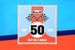 Logo: 50 Jahre Gulf Racing