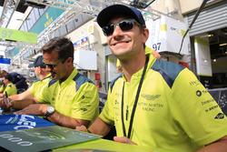 Paul Dalla Lana, Pedro Lamy, Mathias Lauda, Aston Martin Racing
