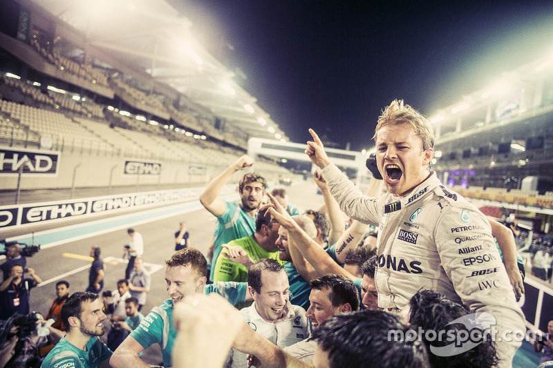Nico Rosberg: 7 anni con Mercedes (dal 2010 al 2016)