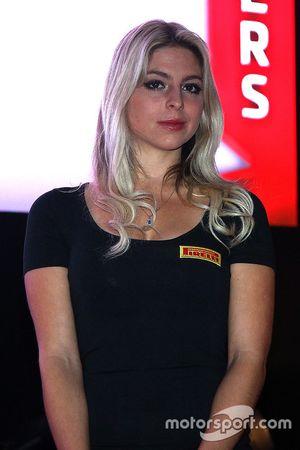 Pirelli hostess