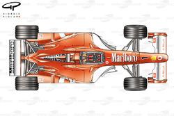 Comparaison des déflecteurs de la Ferrari F2003-GA (654)