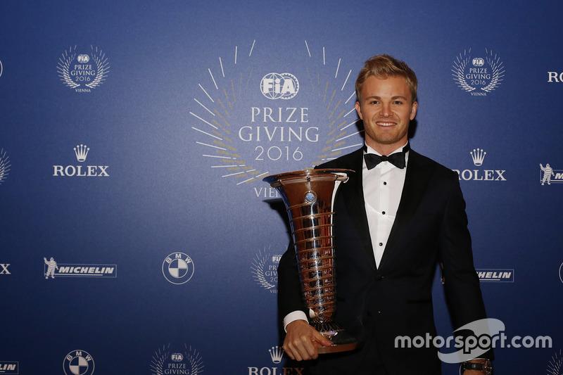 El retiro de Rosberg como campeón
