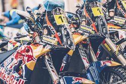 Red Bull KTM Factory Racing ist bereit für die lange Reise nach Buenos Aires