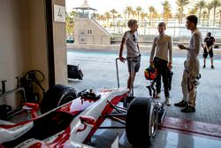 George Russell, ART Grand Prix, Callum Ilott, ART Grand Prix, Alexander Albon, ART Grand Prix