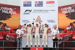 Podium Race 5: Pemenang balapan, Jordan Love (AUS); Runner-up, Faine Kahia (NZL); Peringkat ketiga,