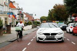 Maxime Martin, BMW Team RBM, BMW M4 DTM en el BMW M4 Safety car