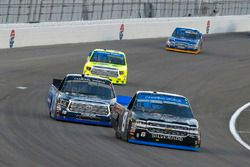 John Hunter Nemechek, SWM-NEMCO Motorsports Chevrolet and Ryan Truex, Hattori Racing Enterprises Toy