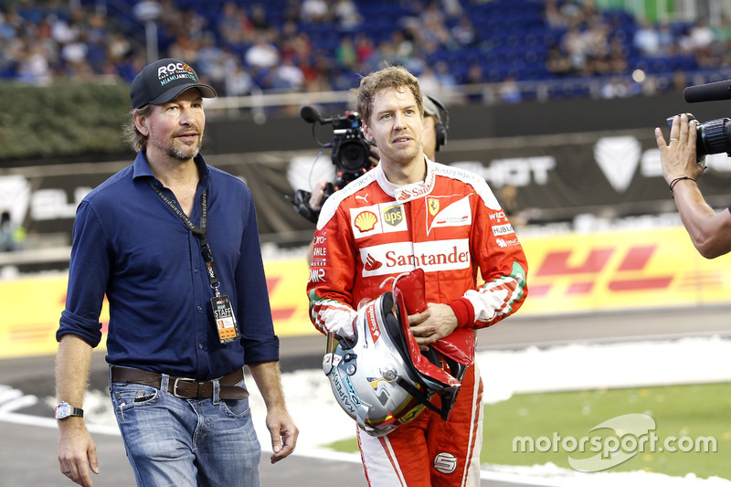 Fredrik Johnsson, RoC with Sebastian Vettel