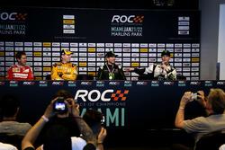 Press Conference with Sebastian Vettel, Kyle Busch, Kurt Busch and Petter Solberg