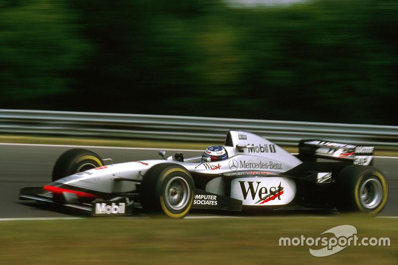 マクラーレンMP4-12・メルセデス(ミカ・ハッキネン/1997年ハンガリーGP)
