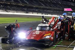 Pit stop, #70 Mazda Motorsports Mazda DPi: Joel Miller, Tom Long, James Hinchcliffe