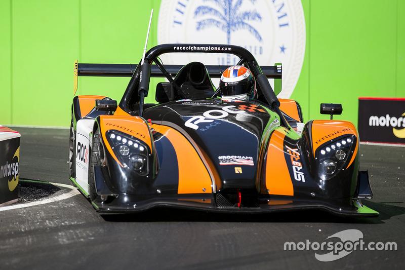 Alexander Rossi guida la Radical SR3 RSX