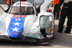 Unfall: #81 DragonSpeed, ORECA 07: Henrik Hedman, Nicolas Lapierre, Ben Hanley, Loic Duval
