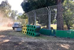 Préparatifs du Grand Prix d'Australie