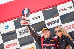 Podio TCB: il primo classificato P.J. Groenke, TechSport Racing
