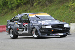 Andreas Lanz, Toyota Corolla AE86, Equipe Bernoise