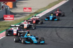 Arjun Maini, Jenzer Motorsport y Dorian Boccolacci, Trident, Raoul Hyman, Campos Racing