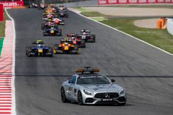 De safety car voorop