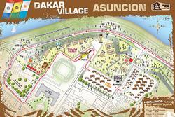 Asunción, il Dakar village