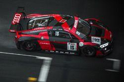 #15 Audi Sport Team Phoenix, Audi R8 LMS: Christopher Haase, Robin Frijns, Laurens Vanthoor