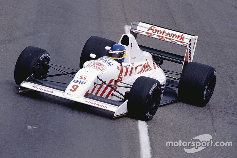 Arrows A11B, con motor Ford Cosworth (1990)