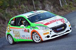 Luca Bottarelli, Manuel Fenoli, Peugeot 208 R2, New Turbomark