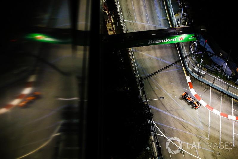 9. Stoffel Vandoorne, McLaren MCL32