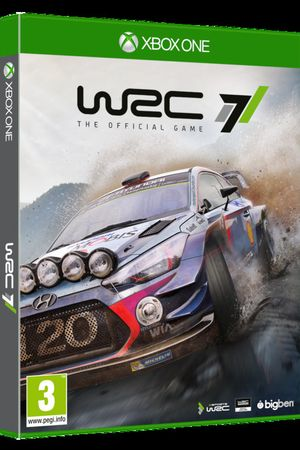 Cover WRC 7 voor Xbox One