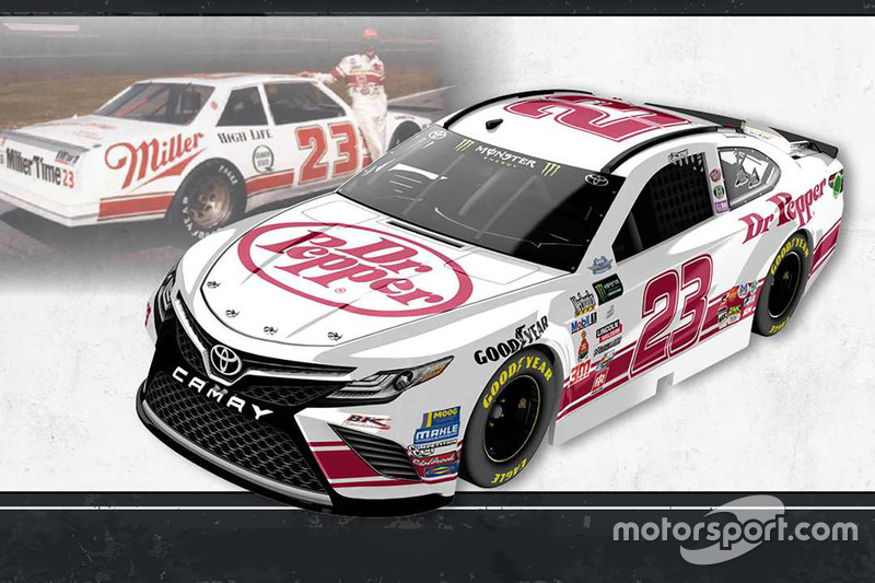 Throwback-Design: Corey LaJoie, BK Racing Toyota